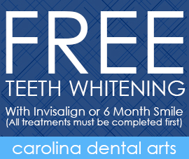 Free Teeth Whitening, With Invisalign or 6 Month Smile (All treatments must be completed first)